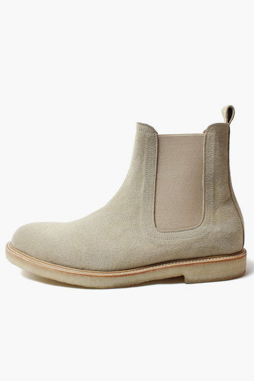 [SEASON SALE]곰&보 첼시부츠 R15D038 (아이보리 스웨이드)Gomme&Beau Chelsea Boot (Ivory Suede)