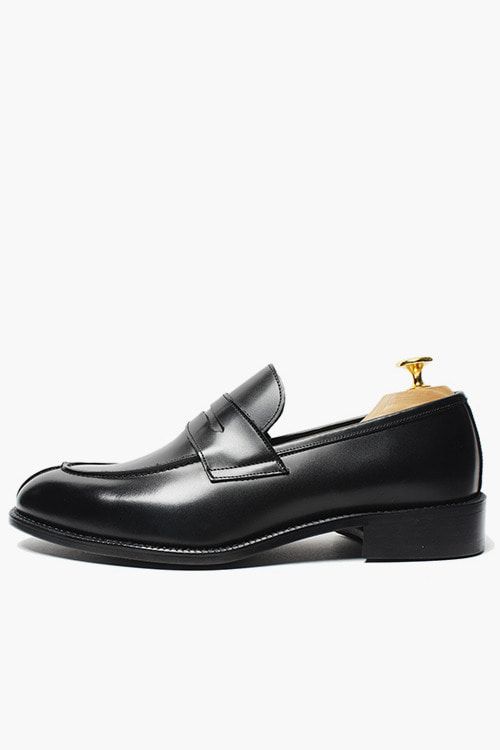 유팁로퍼 R14M048 (블랙)U-tip Loafer (Black)
