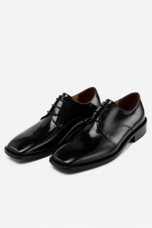 [New Arrival SALE]드레스덴 스퀘어토 더비 R20M103 (Black BX)  Dress Square Toe Loafer R20M103 (Black BX)