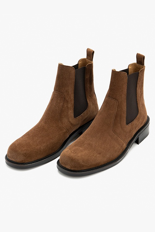 [New Arrival SALE]디벨 첼시부츠 R21M028 (브라운 스웨이드)Dbell Chelsea Boot (Brown suede)