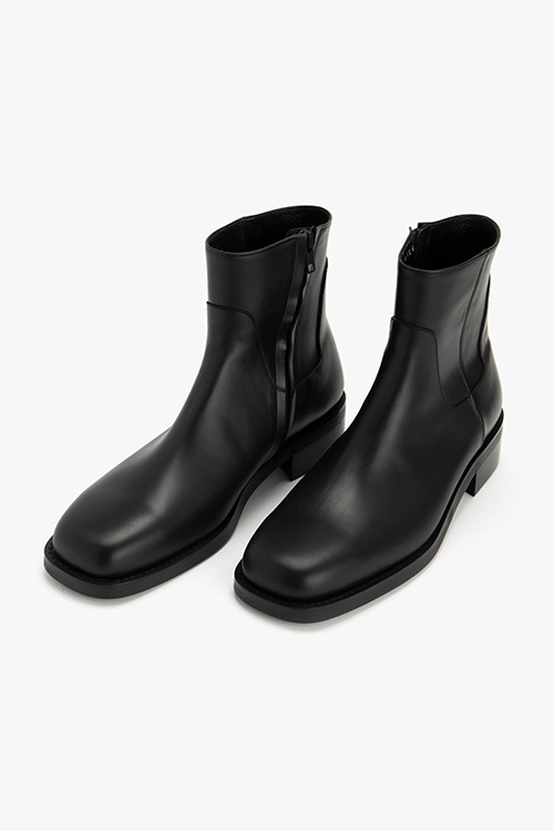 [New Arrival SALE]스탠스 스퀘어토 집업 부츠 R21M026 (블랙)  Stance Square Toe Zipper Boot (Black)