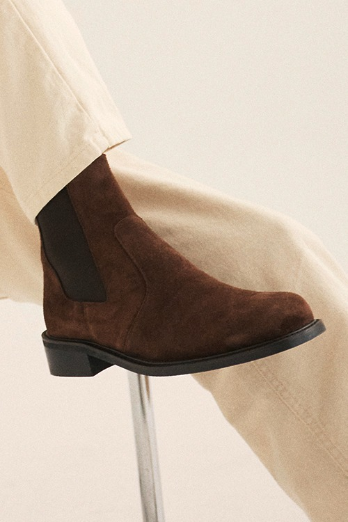 [New Arrival SALE]디벨 첼시부츠 R21M028 (리얼브라운 스웨이드)Dbell Chelsea Boot (Real brown suede)